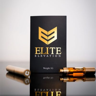 Elite Elevation Purple Space Cookies Vape Pen Cartridge 600mg/1200mg
