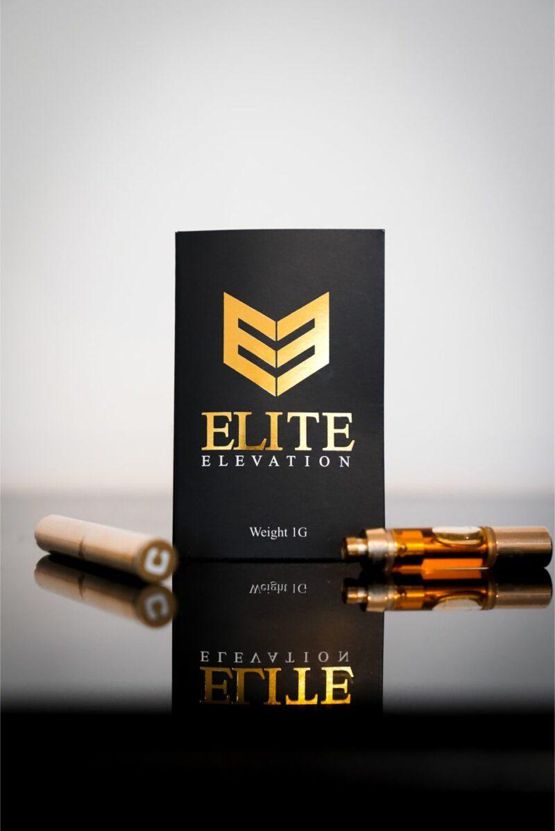 Elite Elevation Purple Space Cookies Vape Pen Cartridge 600mg/1200mg