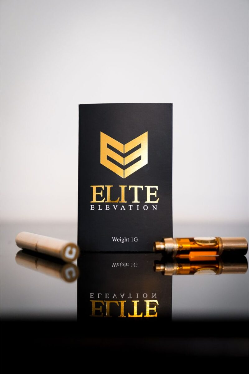 Elite Elevation Blue Mystic Vape Pen Cartridge 600mg/1200mg