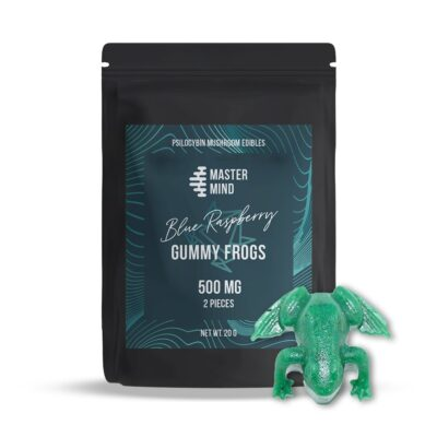 Mastermind Gummy Frogs 500mg