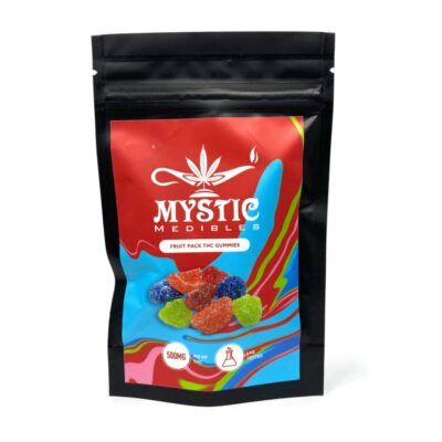 Mystic Medibles THC Fruit Pack Gummies 500mg