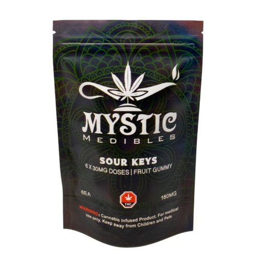 Mystic Medibles Sour Keys