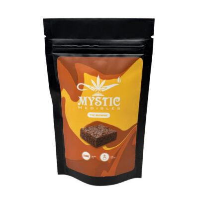 Mystic Medibles THC Brownie 200mg/400mg