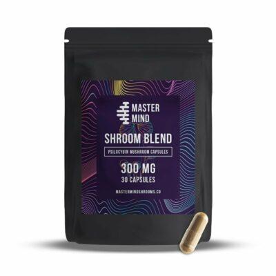 Mastermind Shroom Capsules 300mg 30
