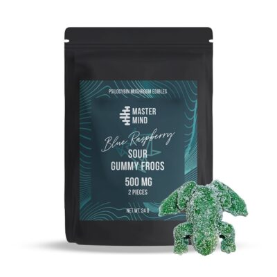 Mastermind Sour Gummy Frogs 500mg