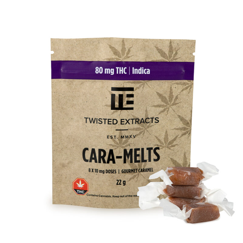 Twisted Extracts Cara-Melts Indica