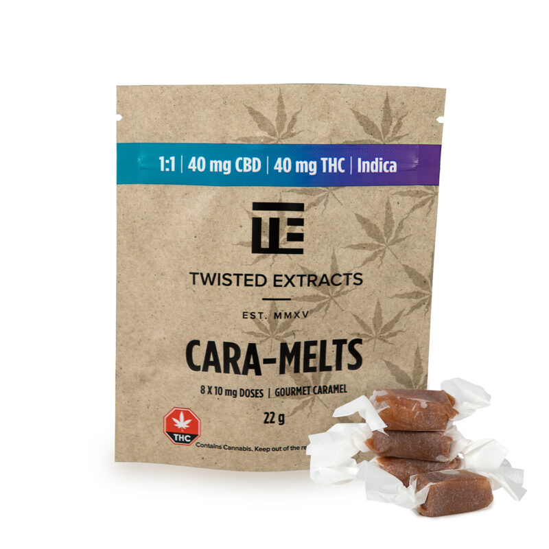 Twisted Extracts Cara-Melts Indica 1:1