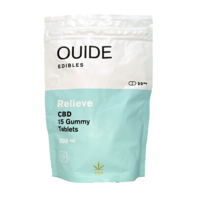 Ouide RELIEVE Gummy Tablets (CBD)