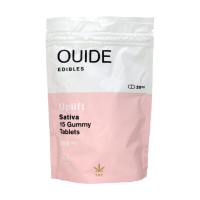 Ouide UPLIFT Gummy Tablets (Sativa)