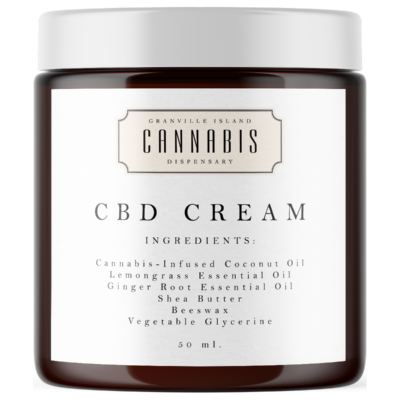 CBD Topical Cream (Natural Ingredients)